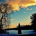 Silver Lake Sundown by Elizabeth Tillar