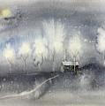 Silver Night by Katerina Kovatcheva