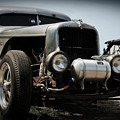 Silver Rat Rod by Perry Webster