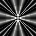 Silver Rays 1 by Devalyn Marshall