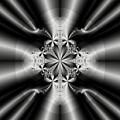 Silver Rays 2 by Devalyn Marshall