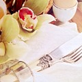 Silver Service Breakfast Setting by Jacqueline Manos
