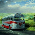 Silver Star Leyland Coach by Mike Jeffries