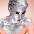 Silver Woman 1 by Tony Rubino