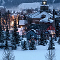 Silverton At Night by Angela Moyer