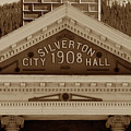Silverton City Hall 1908 by David Lee Thompson