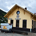 Silverton Train Depot by Catherine Sherman