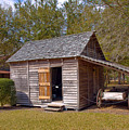 Simmons Cabin Built In 1873 In Orange County Florida by Allan  Hughes