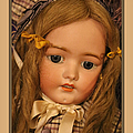 Simon And Halbig Antique Doll by Theresa Campbell