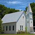 Simple Country Church by Christopher Holmes