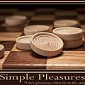Simple Pleasures Poster by Tom Mc Nemar