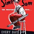 Simple Sam The Wasting Fool by War Is Hell Store
