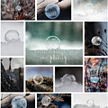 Simplistic Beauty Bubble Collage by Christina VanGinkel