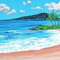Simply Maui 18 X 24 by Santana Star