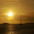 Simpson Bay Sunset Saint Martin Caribbean by Toby McGuire