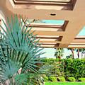 Sinatra Patio Palm Springs by William Dey