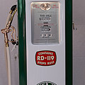 Sinclair Antique Gas Pump by David Campione