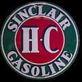 Sinclair Gasoline Porcelain Sign by Chris Flees