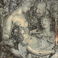 Sine Cerere Et Libero Friget Venus by Hendrik Goltzius