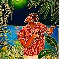 Sing Hanalei Moon by Angela Treat Lyon