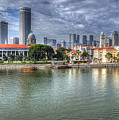 Singapore By Day by Hans Janssen