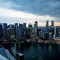 Singapore Skyline by Robert Mcgillivray