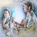 Singer And Guitarist Flamenco by Miki De Goodaboom