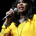 Singer Shirley Alston Reeves  by Concert Photos