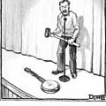 Singer Smashes Banjo by Matthew Diffee