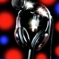 Singer Stage Microphone by Jerry Bernard