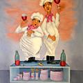 Singing Chefs by Barney Napolske