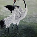 Singing Cranes by Judy Kirouac