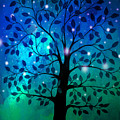 Singing In The Aurora Tree by Cheryl Rose
