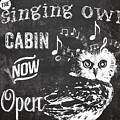 Singing Owl Cabin Rustic Sign by Mindy Sommers