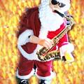 Singing Santa by Miriam Marrero