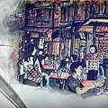 Siniawan Street In Borneo by Tan Lan Ching