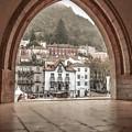 Sintra Through The Arch by Julie Palencia