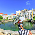 Sintra Travel Woman by Benny Marty