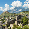 Sion Old Town In Switzerland by Didier Marti