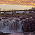 Sioux Falls Sunset by AllScapes Photography