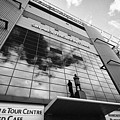 sir alex ferguson stand Manchester united old trafford stadium uk by Joe Fox
