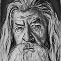 Sir Ian Mckellen As Gandalf The Grey by Harrison Larsen