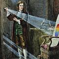 Sir Isaac Newton by Granger