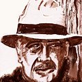 Sir Sean Connery by Seth Weaver