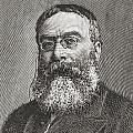 Sir Walter Besant, 1836 -1901. English by Vintage Design Pics