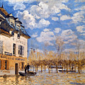 Sisley: Flood, 1876 by Granger