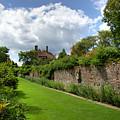 Sissinghurst garden wall