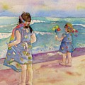 Sisters By The Sea by Anne McMath