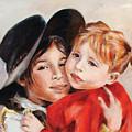 Sisters by Ekaterina Mortensen