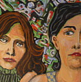 Sisters In Art by Todd  Peterson